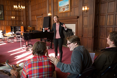Blythe Coons teaches Shakespeare