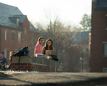 Spring Weather on Campus