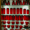 Shelf Display in Red