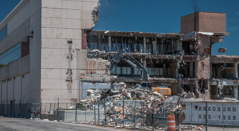 Demolishing the Eagle Building