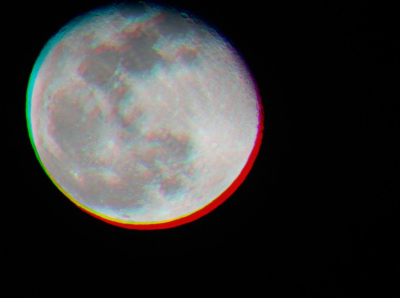 Cellophaned Moon