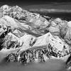 Aerial view-Mount McKinley