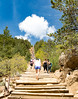 A 1 mile long, 2000 ft high climb in Manitou Colorado