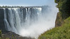Victoria Falls viewed from Zimbabwe, Africa