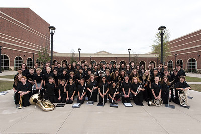04/11/2017 Symphonic Band at UIL