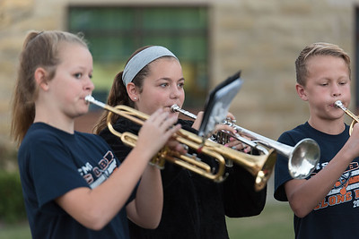 10/06/2016, Cobb Band @ Walk to School Day @ Carroll Elementary School