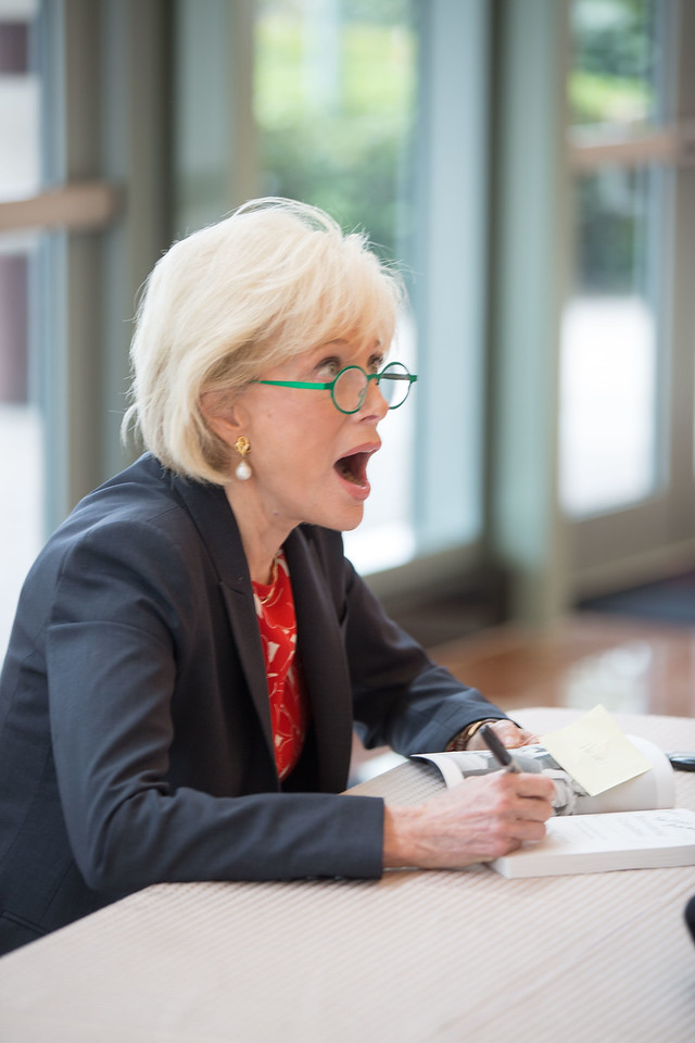 The Forum Club of the Palm Beaches' April 18, 2017 luncheon with Lesley Stahl at the Kravis Center. Photo credit: @capehartphotography #ForumClubPB #capehartphotography