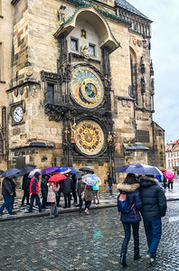 Prague Astronomical Clock by Phyllis Peterson - Score: 11
