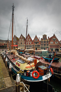 Boat from Hoorn by Phyllis Peterson - Score: 11