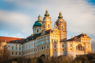 Melk Abbey  by Phyllis Peterson