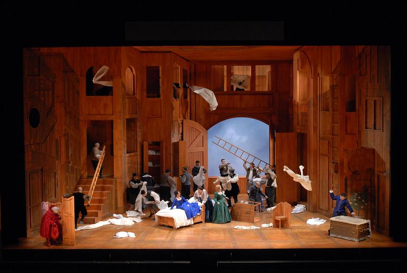 Verdi's Falstaff opens February 18, 2017 for four performances. Photo by Robert Kusel/Lyric Opera of Chicago.