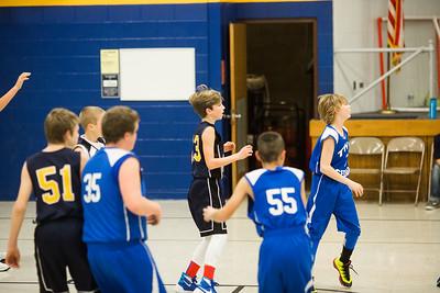 Boys Basketball vs Twin Cedars 1/9/17