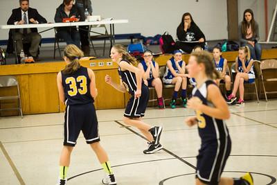 Girls BB vs Twin Cedars 1/9/17