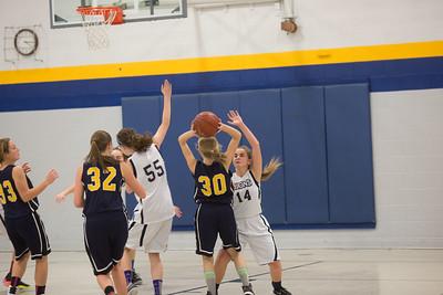 Girls Basketball vs Des Moines Christian 1-19-17