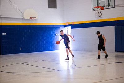 Staff vs 8th grade Basketball Game
