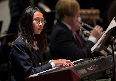 Winter Instrumental Concert held in the Performing Arts Center, King School, Stamford, CT on Thursday, December 8, 2016.