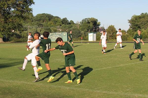 Boys JV and V soccer 9/12/16
