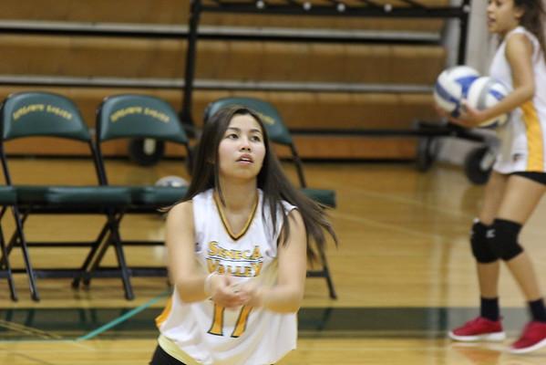 JV volleyball vs. Rockville HS 9/23/16