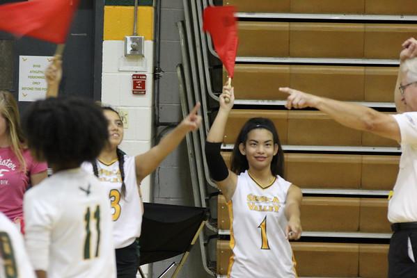 SV Varsity Girls Volleyball vs. Rockville 9/23/16