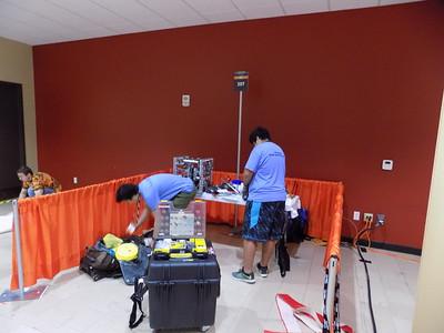 4.29.2017 D-E Robotics at FTC World Championship in St. Louis
