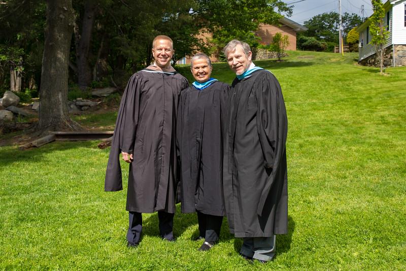 Col. Timothy L. Kopra, Michele DeFreece, Headmaster Jonathan Lamb