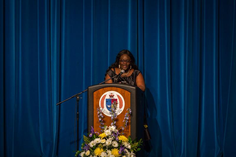 Gabriella Naa Oyoo Quartey at Senior Service