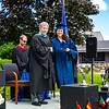 Headmaster Lamb poses with Maria Claudia Gonzalez Rodriguez