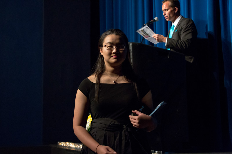 "Yunqui ""Vicky"" Liu at Senior Service"