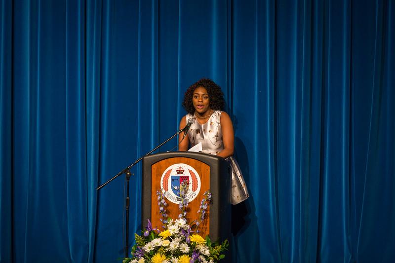 Ashira Mayers at Senior Service