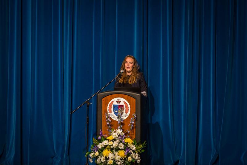 Catherine Pomeroy at Senior Service