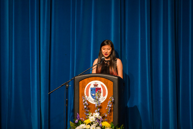 "Li ""Alice"" Chen at Senior Service"