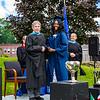Ashira Mayers poses with Headmaster Lamb
