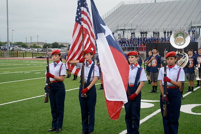 The Leander ISD Air Force JROTC