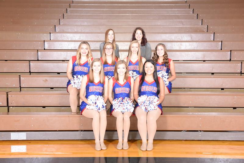 "Dance Team, ""Sapphires"""