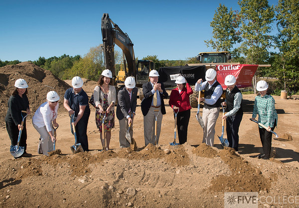 Library Annex Groundbreaking