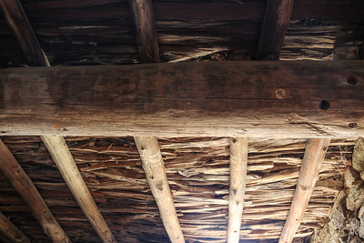 Original Wood Roofing - Aztec Ruins National Monument