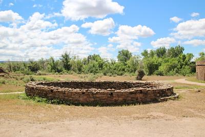 Kiva - Aztec Ruins National Monument