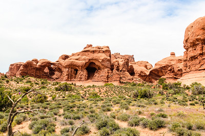 Arches National Park - Double Arch