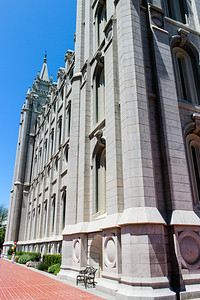 Salt Lake City - Mormon Temple