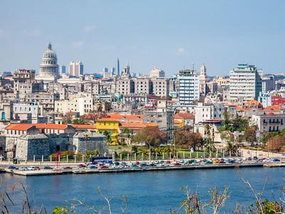 View from El Cristo de La Habana
