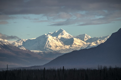 Matanuska Glacier area....seems a little blurry