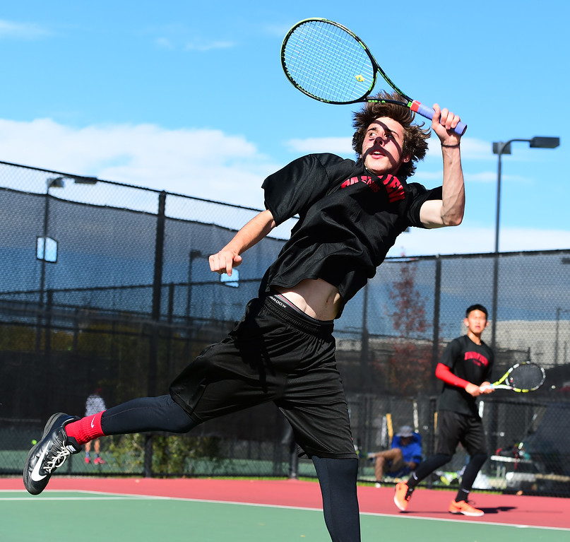 5A State Boys Tennis First Day