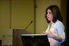 Nada Kalaany, PhD, during Pancreatic Cancer Action Network-AACR Research Grants Presentation Session