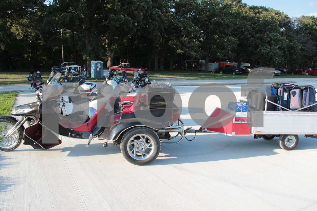 Trike and trailer