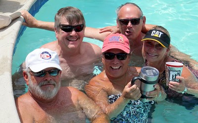 2016 ACSC Summer WS Hosted by Palmetto Shag Club - Pool Party