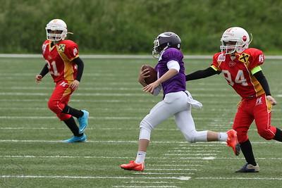 2016; AFBÖ; American Football; St. Pölten Invaders; Vienna Vikings; U13; Youth