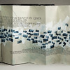 Student of Clouds, poet Billy Collins; Original, custom book and caligraphy by artist Jane Ewing