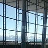 View from airport.