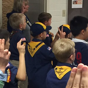 Jake's 1st Cubscout MTG