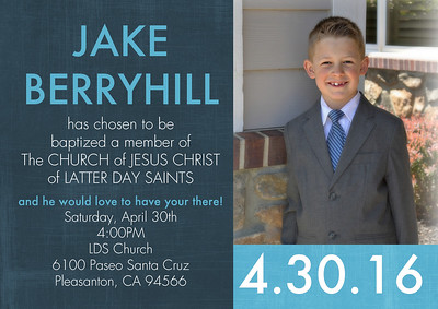 Jake's Baptism
